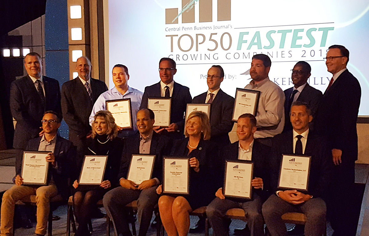 Ritter Insurance Marketing Makes List of Top 50 Fastest Growing Companies in Central Pennsylvania