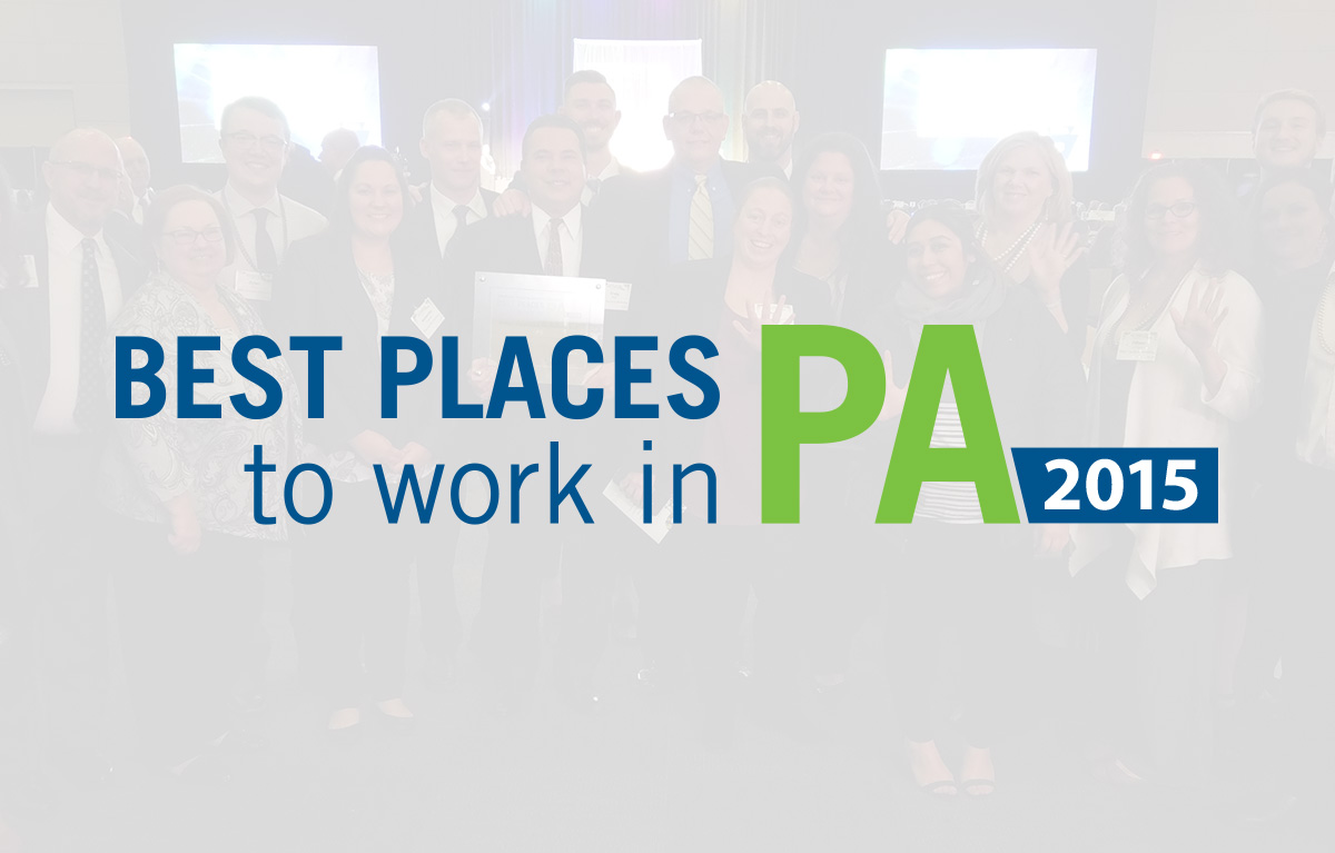 Ritter Is Named One of the Best Places to Work in PA for 2015