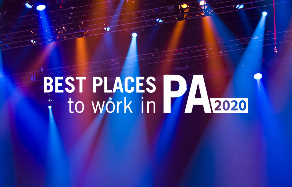 Ritter Ranked 6th Best Place to Work in PA in 2020